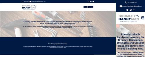 Bromley Handyman web site