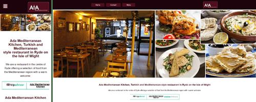 Ada Mediterranean Web site